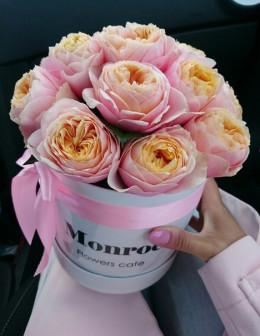 Мини с пионовидными розами