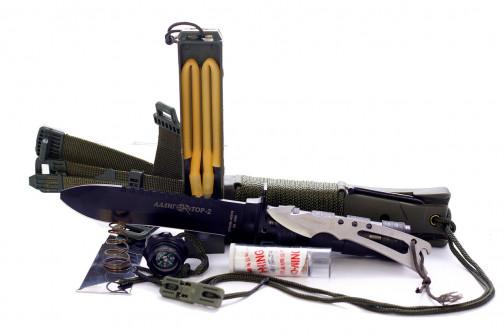 Нож для выживания НК 5696 Аллигатор 2