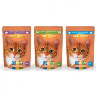 Сухие корма PROХВОСТ для кошек и собак