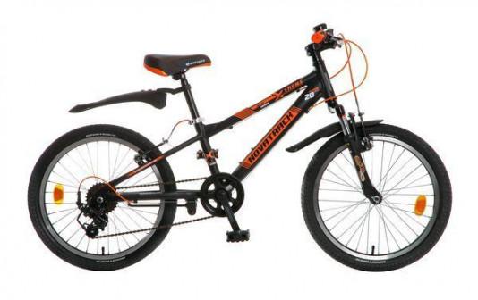 Велосипед Novatrack Extreme 20 7 2016 черно оранжевый
