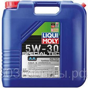 НС синтетическое моторное масло LIQUI MOLY Special Tec AA 5W 30 20л
