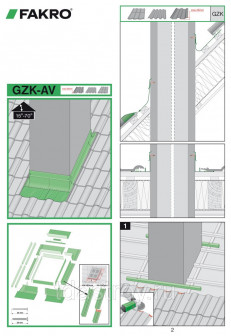 Изоляционный оклад для дымовых труб GZK AS 38