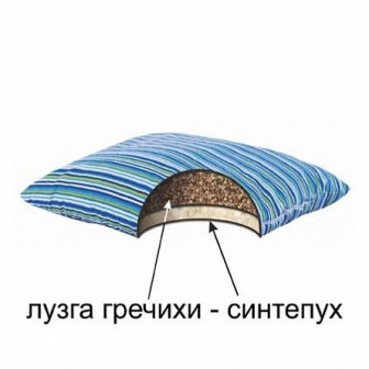 Мягкая гречневая БИО подушка Гармония (50х70)