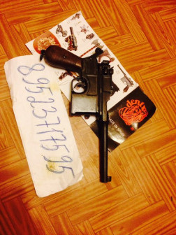 маузер пистолет макет муляж продаю