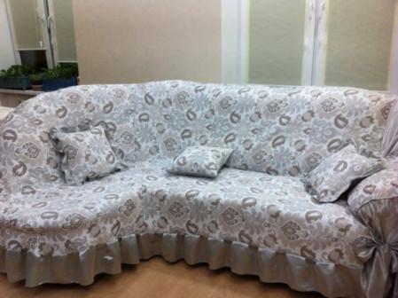 Чехол на диван, чехол на кресло