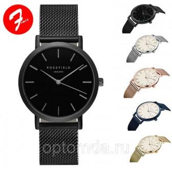 Ультратонкие наручные часы с металлическим браслетом