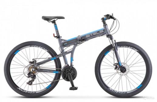 Велосипед STELS Pilot-970 MD (рама 17.5 Серый/синий), 26 арт. V021.Новый!! Доста