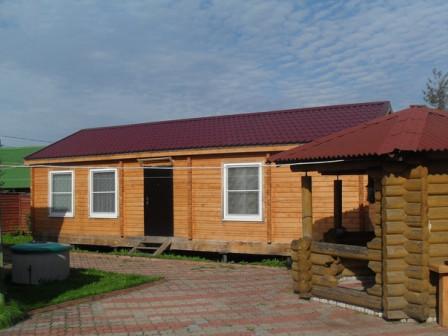 Продается участок с домом в поселке имени Морозова