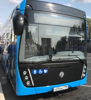 Новые московские маршруты электробусов КАМАЗ