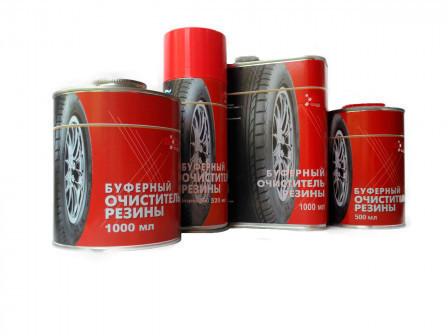 Буферный очиститель резины 1+1 АКЦИЯ 500 мл