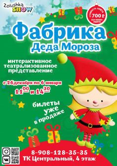 Самое яркое и веселое новогоднее интерактивное шоу в Курске!