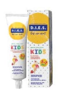 Скидка 25% на детскую зубную пасту D.I.E.S.