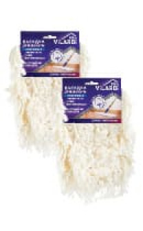 Скидка 25% на хлопковую универсальную насадку для швабры Vilardi