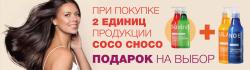При покупке 2-х единиц товара бренда Coco Choco кондиционер Coco Choco на выбор в ПОДАРОК!