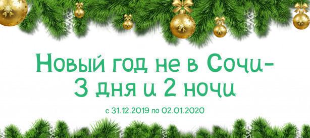 Новый год не в Сочи - 2 дня и 3 ночи