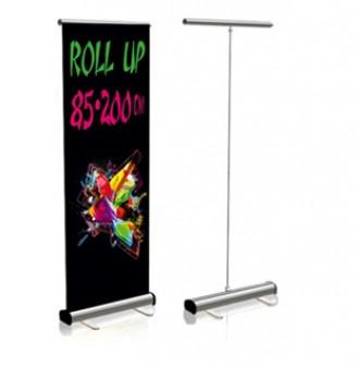 """Роллерный стенд """"Roll up"""" 85*200 см с полноцветной печатью  за 3000 рублей"""