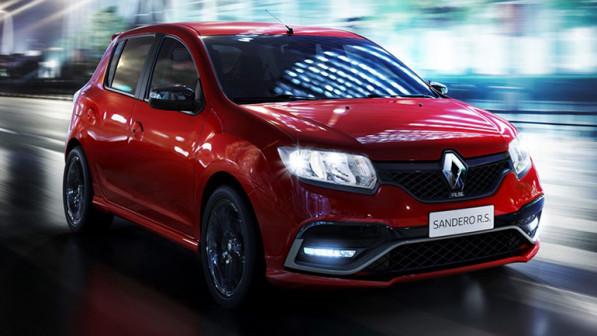 Renault представил обновленный Sandero RS