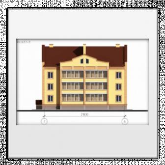 Двенадцати квартирный жилой дом по адресу: г. Ишим, ул. Свердлова, 6.