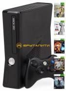 Игровая приставка Xbox 360 Slim+32 топовых игры по суперцене