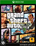 XBOX ONE Grand Theft Auto V за 2 490 руб.