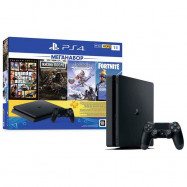 Меганабор: Playstation 4 1Tb+4 игры+3 мес PS