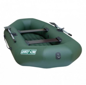 Скидка! Лодка Шкипер А280 (надувное дно) (серый)