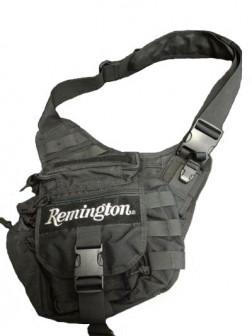 Скидка! Тактическая сумка Remington черная, 5л, 30х30см