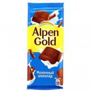 Шоколад Альпен Голд молочный по акции за 39.56 ₽