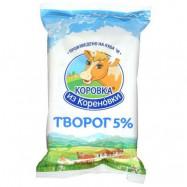Творог Коровка из Кореновки 5%, 180г по акции за 59.27 ₽