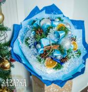 """Букет из чая """" Снежная королева"""" 2 002 руб вместо 2 860 руб"""