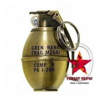 Зажигалка-граната 802G (Zhong Long) 250 руб вместо 490 руб