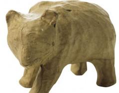 Скидка 50% Фигурка из папье-маше панда 9,5*5*7 см