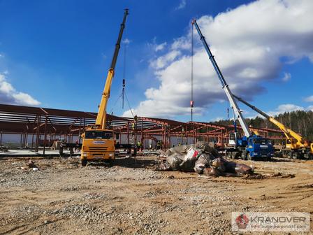 Строительство подмосковных больниц от Коронавируса