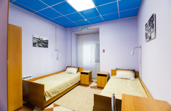 Двухместный смешанный номер с двумя односпальными кроватями. №4
