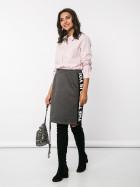 Распродажа! Трикотажная юбка с вставками 900 руб