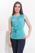 Распродажа! Стильная блуза без рукавов 860 руб.