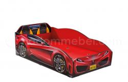 Кровать машина SPYDER, красный, Выгода 5100 руб