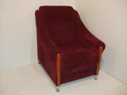 Распродажа! Кресло отдыха красное. Цена 3000 р.