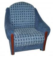 Распродажа! Кресло отдыха синее. Цена 3000 р.