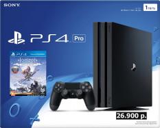 Суперцена на PS4 PRO + Horizon Zero Down, 26900 руб