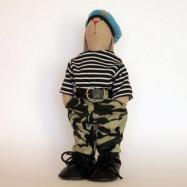 Заяц Военный 33см (кукла интерьерная) 1 050 руб. вместо 1 150 руб.