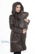 Скидка 25% Демисезонный слингоплащ-парка для беременных