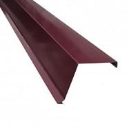 Доска ветровая 95х120 мм 2 м, RAL3005, скидка 48%