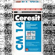 Клей для плитки и керамогранита Ceresit СМ14, 25 кг, -5%
