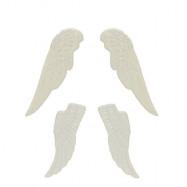 Набор ангельских крыльев БЕЛЫЕ SCB, скидка 50%