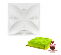 Форма для муссовых десертов Четырехлистник, силикон
