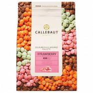 Шоколад CALLEBAUT Розовый клубничный 100 гр, скидка 14%