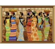 """Набор для вышивания бисером """"Африканские красавицы"""""""