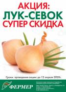Супер скидка на лук-севок