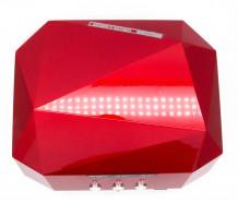 Акция! Лампа для ногтей маникюрная Soline Charms 36 Вт красная